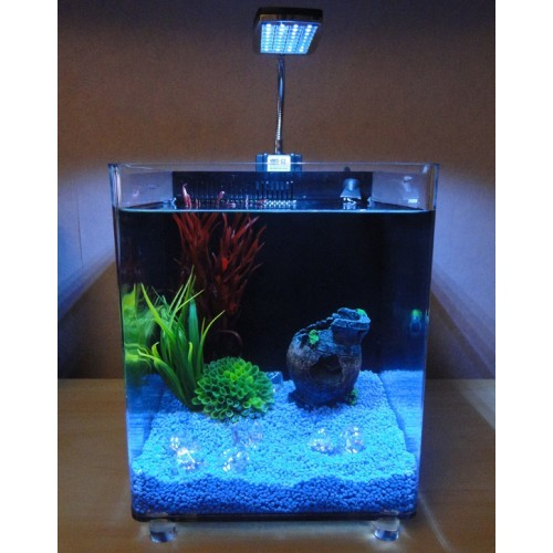 Acrylic Tropical Nano Cube Fish Tank 7l
